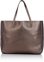 Barneys New York Women's Double-Handle Tote Bag-DARK GREY