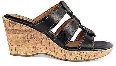 Sofft EurosoftTM by Tinsley Slide Wedge Sandals