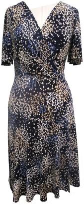 Sandra Darren Patterned Puff Sleeve Dress