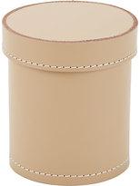 Arte & Cuoio Cylindrical Lidded Box