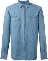 Aspesi denim western shirt - men - Cotton - M