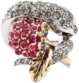 Roberto Cavalli Ring with Snake and Blackberry