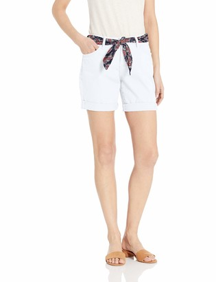 Jag Jeans Women's Carter Girlfriend Belted Short