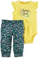 Carter's Baby Girl Daddy's Girl Bodysuit & Floral Pants Set