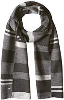 Tommy Hilfiger Men's Piece Color Blocked Stripe Scarf