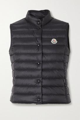 Moncler Liane Quilted Shell Down Vest - Black
