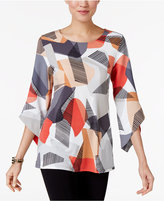 Alfani Angel-Sleeve Top, Only at Macy's