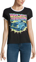 Mighty Fine Back to the Future Graphic T-Shirt- Juniors