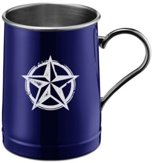 Thirstystone by Cambridge Blue Texas Lone Star Stainless Steel Beer Mug