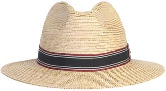 Saint Laurent Panama Hat With Tape
