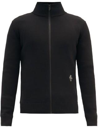 A-Cold-Wall* High-neck Zipped Wool-blend Sweater - Black