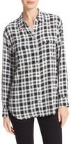 Equipment Women's Signature Plaid Silk Shirt
