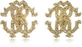 Roberto Cavalli RC Lux Crystals Stud Earrings