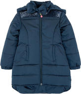Billieblush Long padded coat