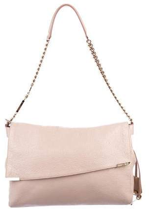 Jimmy Choo Glazed Leather Shoulder Bag