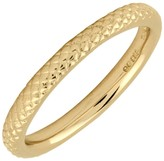 Simply Stacks Sterling 18K Yellow Gold-Plated 2.25mm Ring