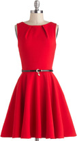 Closet Luck Be A Lady Dress in Red
