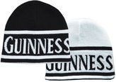 Guinness Reversible And White Beanie Hat With Text