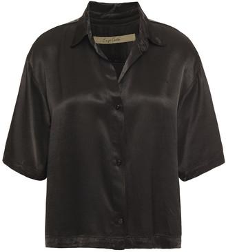 Enza Costa Satin Shirt
