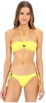 Proenza Schouler Solids Grommet Bikini Set