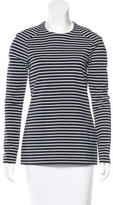 Thakoon Striped Long Sleeve Top