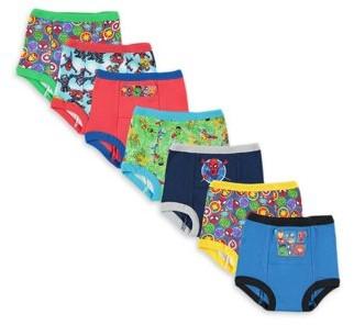 Marvel Super Hero Adventures Toddler Boys Training Pants, 7-Pack