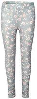 Dex Floral Cotton-Blend Leggings