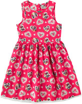 Cath Kidston Mickey Hearts Minnie Kids Sleeveless Tutu Dress