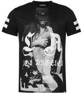 Fabric La Girl T Shirt Mens
