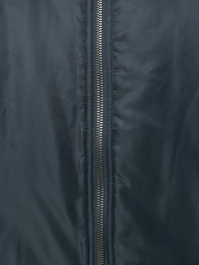 Yves Salomon fur lined bomber jacket