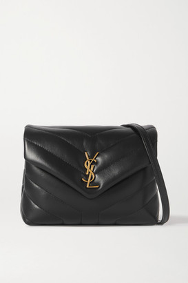 Saint Laurent Loulou Toy Quilted Leather Shoulder Bag
