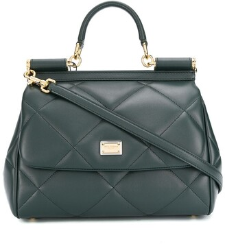 Dolce & Gabbana quilted Sicily tote bag
