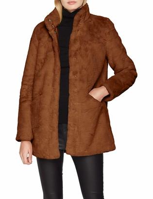 Only Women's Onlvida Faux Fur Coat OTW
