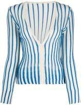 Jacquemus striped cardigan
