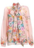 N°21 N° 21 Multicolor Silk Shirt