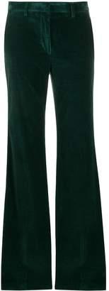 Etro flared corduroy trousers