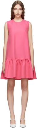 MSGM Pink Textured Dress