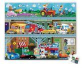 Janod Vehicles 100-Piece Puzzle & Suitcase
