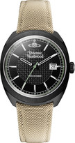 Vivienne Westwood VV136BKBG Time Machine blackened stainless steel watch