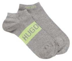 HUGO BOSS Two-pack of ankle socks with contrast logo details