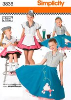 Simplicity Sewing Pattern 3836 Child and Girl Costumes
