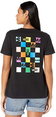 Vans X MoMA Boyfriend Tee ((MoMA) Brand) Women's T Shirt
