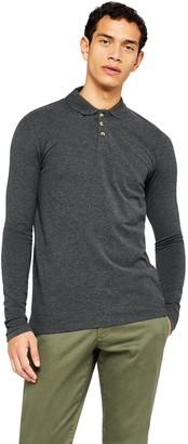 Find. Amazon Brand Men's Long Sleeve Polo Shirt