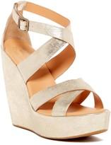 Kork-Ease Grailey Ankle Strap Wedge Sandal