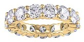 Golden Moon Women's Rings Gold - Cubic Zirconia & 14k Gold-Plated Pave Ring