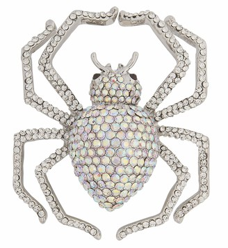 Rubie's Costume Co Rubie's Women's Wicked Gems Silver Spider Ring One Size
