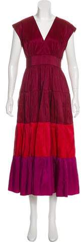 Derek Lam Silk Maxi Dress