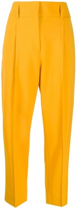 Dorothee Schumacher Front Pleated Cropped Trousers