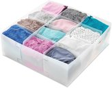 Whitmor 6064-1827 Frosty Collection Divided Drawer Organizer