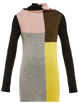 colville Colour-block Wool Sweater - Multi